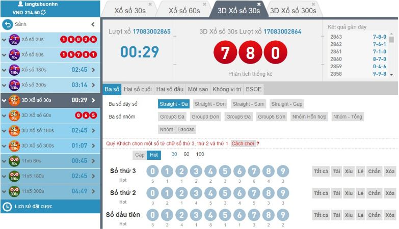 Hướng dẫn chơi lotto W88 online