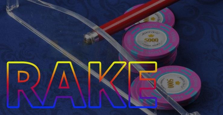 Rake là gì trong Poker